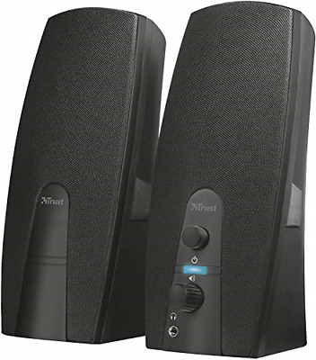 Trust Almo 2.0 PC Speakers For Computer And Laptop, 10 W, USB Powered, Black • 15.25£