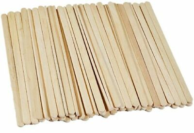 100 X Wooden Stirrers Perfect For Tea & Coffee 140mm Long FREE QUICK DELIVERY UK • 2.55£