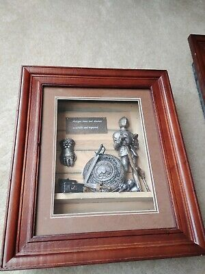 Medieval ANTIQUE ARMS AND ARMOUR  Picture Frame • 21.83£