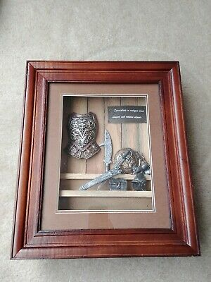 Medieval ANTIQUE ARMS AND ARMOUR  HALF Picture Frame • 21.83£
