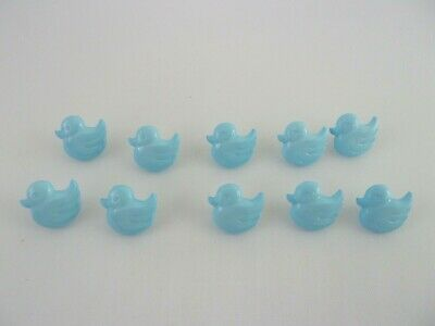 £2.05 • Buy 10 Quality Cute Blue Ducks Novelty Buttons 15mm Baby Children F19
