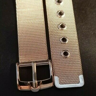 OMEGA STAINLESS STEEL WATCH STRAP 18mm • 32.50£