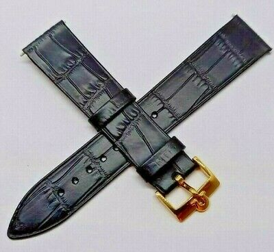 OMEGA  WATCH STRAP LEATHER  18mm • 29.99£