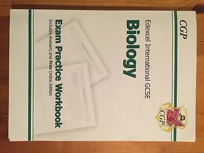 Biology Exam Practice Workbook,CGP Edexcel IGCSE, Official Answers Back Of Book • 1.79£