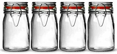 £10.06 • Buy Vintage Large Leg Glass Candy Jar With Lid
