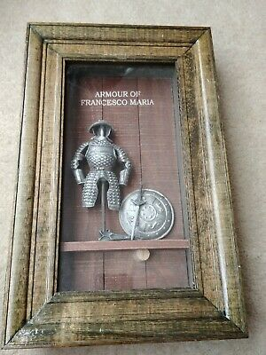 Medieval ARMOUR OF THE CHEVALIER BAYARD 3D Picture Frame • 18.19£