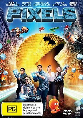 AU9.95 • Buy Pixels (DVD,2015) Adam Sandler  Region 4 NEW+SEALED