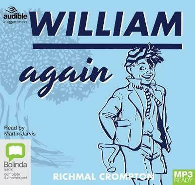 William Again By Richmal Crompton (English) Free Shipping! • 16.99£