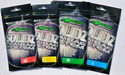 KORDA Solidz Solid PVA Bags With FREE Green Scoop ALL SIZES • 3.90£