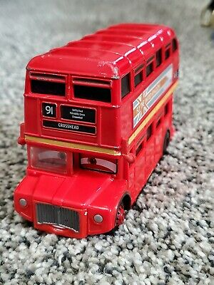 $ CDN15.31 • Buy Disney Pixar Cars Double Decker Bus Touring Tyres London United Kingdom