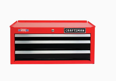 View Details CRAFTSMAN 2000 Series 26-in W X 12.25-in H X 12-in D 3-Drawer Steel Tool Chest • 75.99$