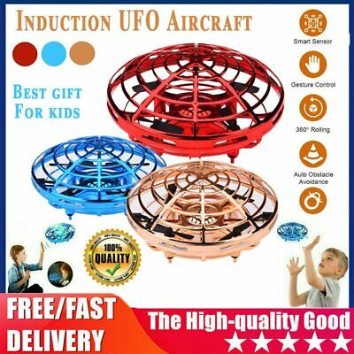 AU17.53 • Buy Mini Drone Smart UFO Aircraft For Kids Flying Toys RC Hand Control Xmas AUS 36HG