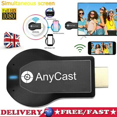 Anycast M2 Plus HDMI TV Stick AirPlay DLNA Wireless WiFi Display Dongle Receiver • 7.89£