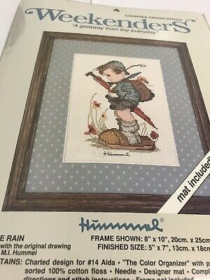 """£6.96 • Buy Hummel Counted Cross Stitch Weekenders """" A Getaway From The Everyday"""" Sealed"""
