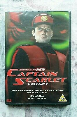£9.99 • Buy New Captain Scarlet Episodes 1 To 4 (DVD 2005) BRAND NEW SEALED Classic Kids TV