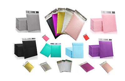 $ CDN42.09 • Buy POLY BUBBLE MAILERS  COLORS  HIGH QUALITY SIZE  4x7.5''  5x7''  6x9''  8X11''