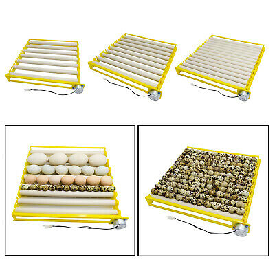 AU29.32 • Buy Egg Incubator Tray 360° Rotary Automatic Egg Roller For Chicken Duck Quail