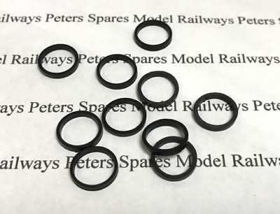 £8.99 • Buy Peters Spares PS80 (Hornby X8461 X8029 S8318) Small Traction Tyres (Pk10)