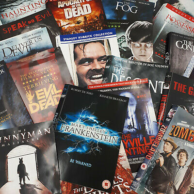 £1.66 • Buy Horror DVD's Scary Movies & Thrillers Large Choice VGC