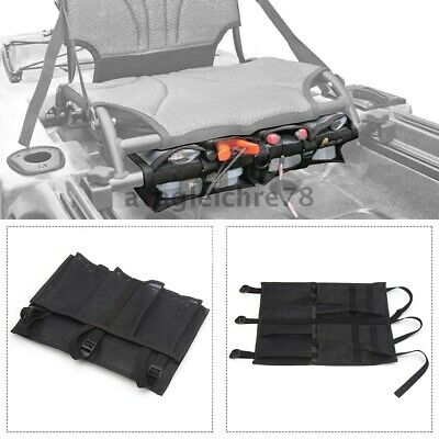 AU34.25 • Buy Seat Pack Tool And Tackle Organizer Mesh Storage Caddy Kayak Fishing Accessory