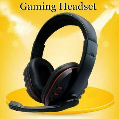 AU17.88 • Buy Gaming Headset For Xbox One PS4 Nintendo Switch & PC 3.5mm Mic Headphones AU