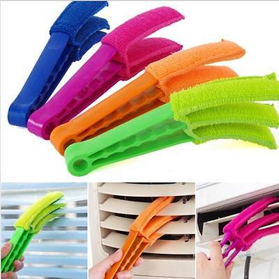 AU4.68 • Buy Cleaning Brush Air Conditioner Detachable Blinds Window Triple Slat Cleaner - 6A
