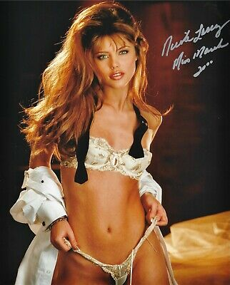 $ CDN43.73 • Buy Nicole Lenz 03/2000 Playboy Playmate Sexy Signed Photo  (in1)