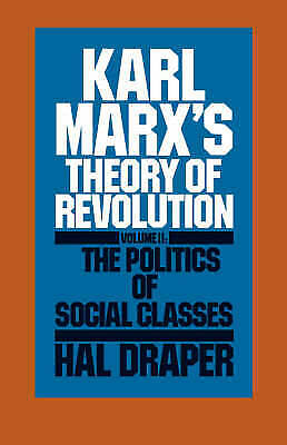 Karl Marx's Theory Of Revolution - 9780853455660 • 18.54£
