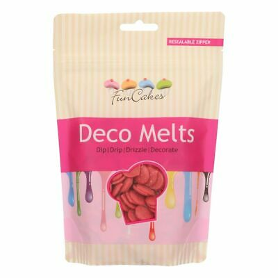 Candy Deco Melts Buttons Cake Pop - Red 250g • 6.99£