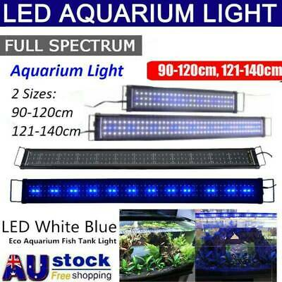 AU45.99 • Buy 90 -140 CM Aquarium LED Lighting 3ft/4ft Marine Aqua Plant Fish Tank LED Light