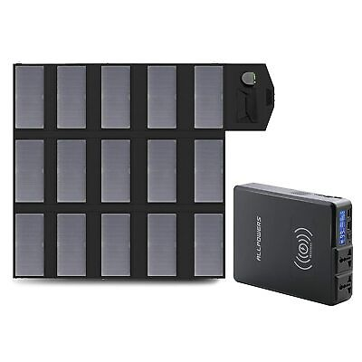 288Wh Portable Generator Power Station Emergency Power Charged By Solar Panel • 229.49£