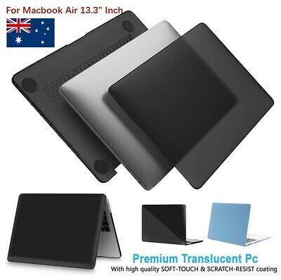 AU17.09 • Buy Rubberized Hard Case Shell+Keyboard Cover For Macbook Air 13.3  Inch