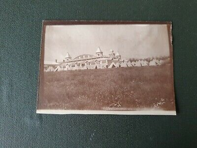 1910 PRE WW1 SOLDIERS ON CAMP, RAMSEY, ISLE OF MAN. ORIGINAL PHOTO 9x6cm App #5 • 2.99£