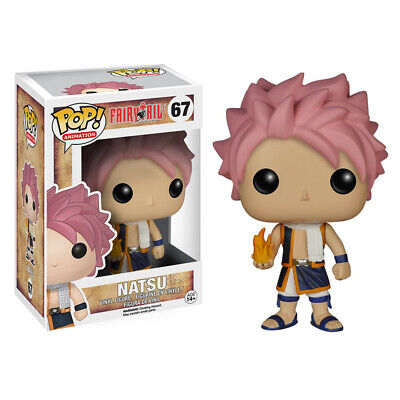 Funko Pop Fairy Tail Natsu PVC Action Figure Toys Kids Collectible With Box UK • 13.97£