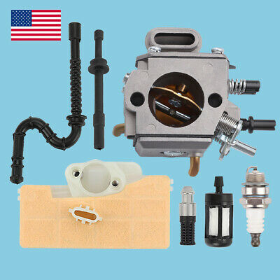 $14.78 • Buy New Carburetor Air Fuel Filter Line For STIHL 044 046 MS440 MS460 Chainsaw USA