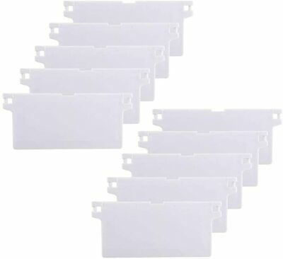 HO2NLE 10Pcs Vertical Blinds Accessories Slats Replacement White 89mm 89 Mm  • 10.10£