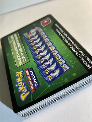 $4.99 • Buy 50x Pokemon QR Codes (Booster Packs, Collection, And Trainer Boxes) *Brand New*