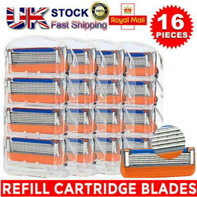 16PCS 5 Blades Gillette Fusion Proglide Power Replacement Mens Razor & Handles • 19.19£