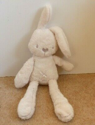 Mamas And & Papas Millie Cream Bunny Rabbit Soft Toy 16  Toy Cross Button  • 12.99£