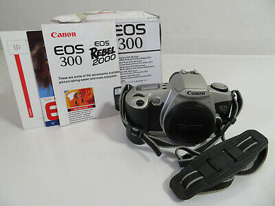 £24.99 • Buy Canon - EOS 300 - Film Camera Body Only - Boxed - Tested & Working