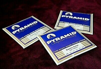 $ CDN11.25 • Buy Pyramid Electric Guitar Strings: Pure Nickel - Superior Quality MADE IN GERMANY