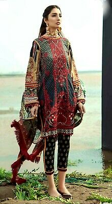 Firdous Inspired 3 Piece Lawn Unstitched • 14£