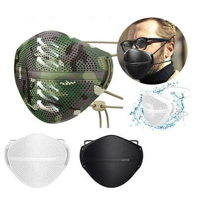 $ CDN15.28 • Buy Face Cover Carbon Filter Mouth Nose Separate Haze Fog L/XL Reusable Washable New