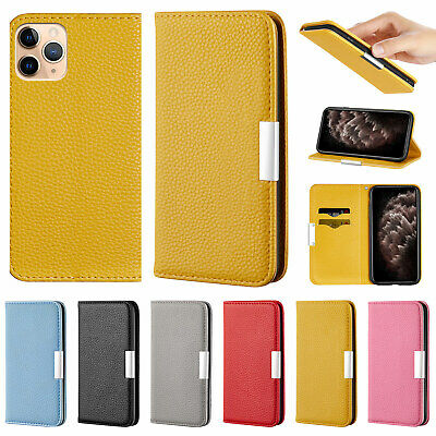 AU11.99 • Buy For IPhone 12 11 Pro Max XR XS 8 Plus 7 6s Luxury Case Flip Leather Wallet Cover