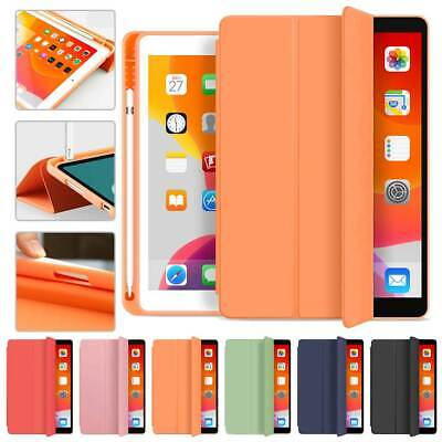 AU24.95 • Buy Leather Case Cover Pencil Holder W/Sleep/Wake For Ipad 10.2/Pro 10.5/Air 4 10.9
