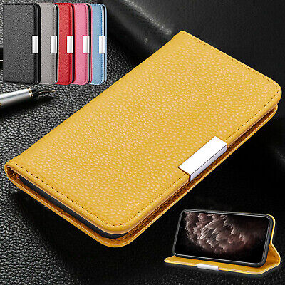 AU11.96 • Buy For IPhone 12 11 Pro Max XR XS 8 Plus 7 6s Deluxe Flip Leather Wallet Case Cover