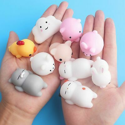 AU11.99 • Buy 10/20 Cute Mochi Squishies Kids Toys Animal Fidget Moshi Cute Kawaii Rilakkuma