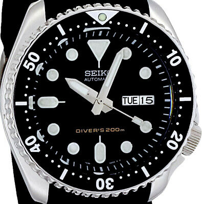 $ CDN188.56 • Buy Vintage SEIKO SKX007 Diver SAMURAI Hands Mod 7S26 With Genuine Case, Dial, Movt.