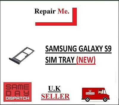 £1.99 • Buy Samsung Galaxy S9 Sim Tray With Micro Sd Holder Slot Replacement Part