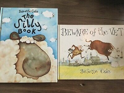 £15 • Buy Beware Of The Vet & The Silly Book By Babette Cole (Hardback) First Editions